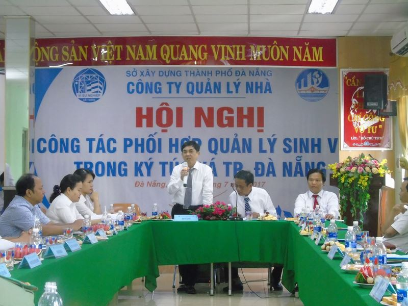 Hội nghị công tác phối hợp quản lý sinh viên trong Ký túc xá thành phố Đà Nẵng